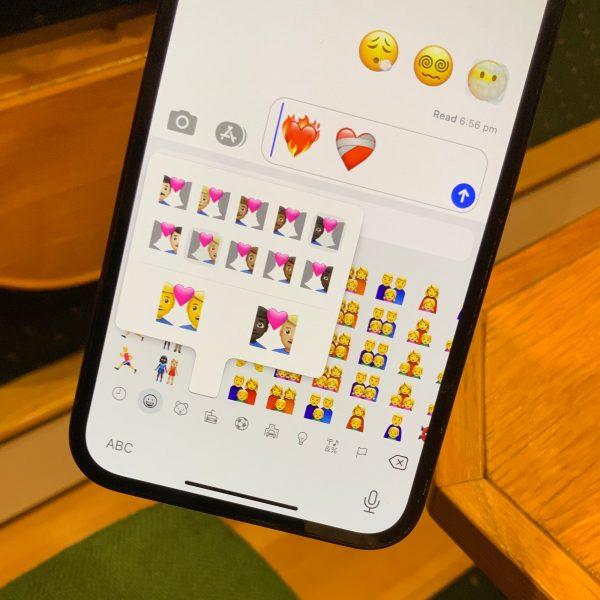 Nouveaux émojis mise à jour iOS 14.5